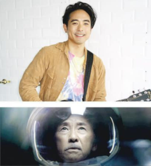 George Lam appears in the last eight seconds of the MV as an older version of Alex