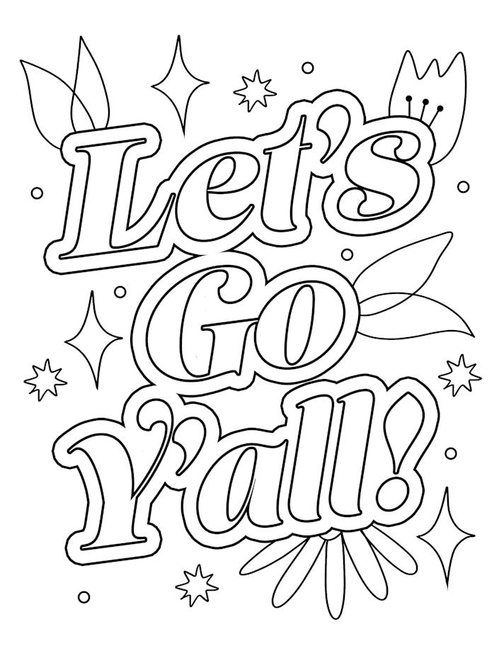 Bored At Home Download One Of Our Free Today Coloring Sheets