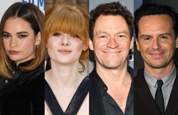 Lily James, Emily Beecham, Dominic West and Andrew Scott to Star on 'Pursuit of Love' Series at Amazon, BBC One