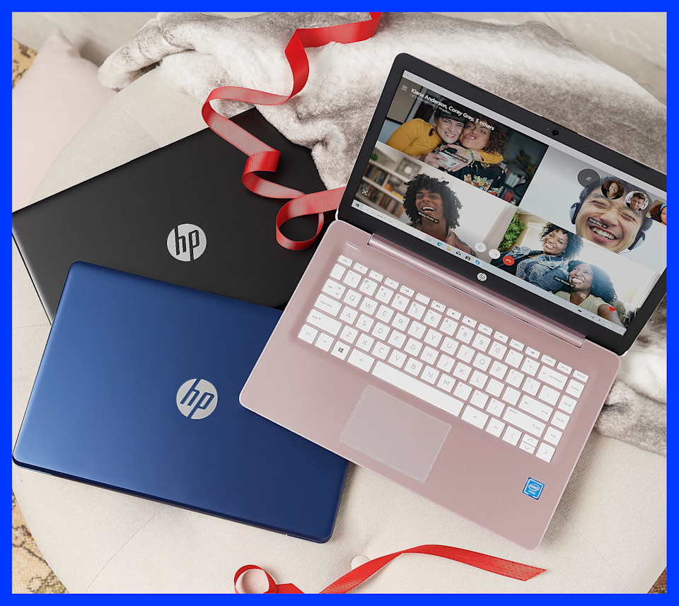 Choose silvery pink, royal blue, or basic black. (Photo: HP)