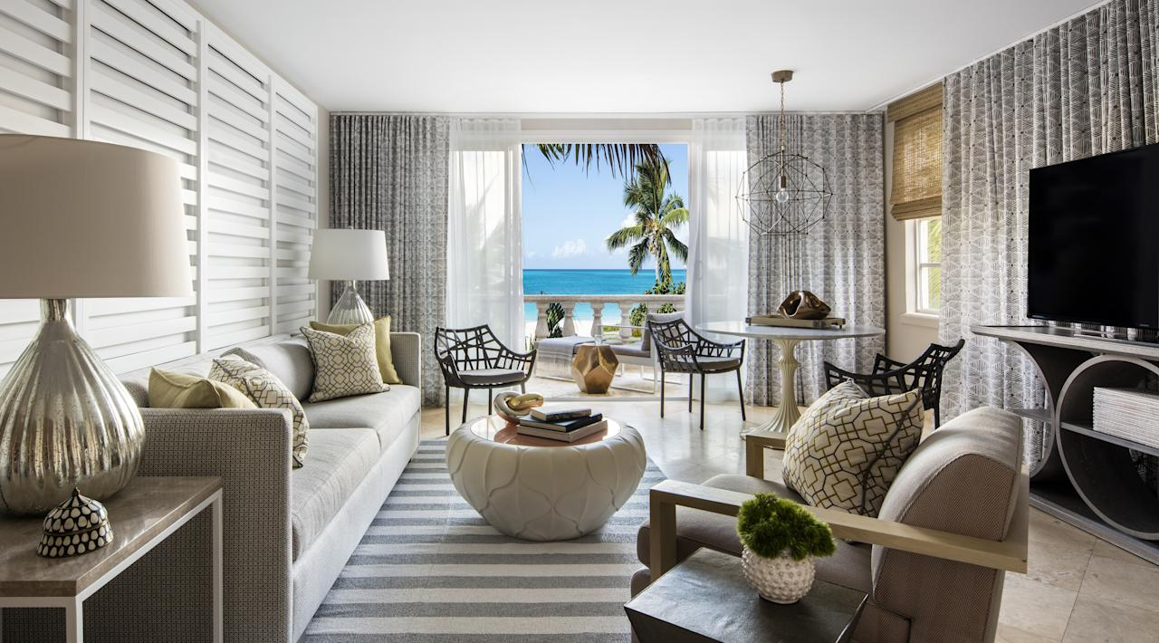 """<p>There are a number of high style hotels and <a rel=""""nofollow"""" href=""""http://www.brides.com/story/reasons-to-book-an-all-inclusive-wedding-package?mbid=synd_yahoolife"""">all-inclusive resorts</a> on the island, which not only serve as a wonderful place for you and your guests to stay, but also the perfect backdrop to enter matrimonial bliss. And because Turks and Caicos is such a popular place to say """"I do"""", most hotels offer wedding packages and on-site planners to facilitate everything from the food to the decor—and, of course, make sure your special day goes off without a hitch. One of the most sought after venues on the island is <a rel=""""nofollow"""" href=""""https://gracebayresorts.com/gracebayclub?mbid=synd_yahoolife"""">Grace Bay Club</a>. This spectacular beachfront property offers couples the option of a daytime or sunset ceremony. And the lure of the immaculately decorated guest rooms, perfectly manicured grounds and Infiniti Bar (the longest in the Caribbean) is undeniable.</p><p>Want an ultra-private affair? The <a rel=""""nofollow"""" href=""""http://www.brides.com/story/turks-and-caicos-gansevoort?mbid=synd_yahoolife"""">Gansevoort Turks and Caicos</a> accommodates weddings on a buy-out basis (yes, that means you have to <a rel=""""nofollow"""" href=""""http://www.brides.com/gallery/destination-wedding-hotels-to-buy-out?mbid=synd_yahoolife"""">book the whole hotel</a>). This modern boutique hotel boasts 91 ocean-view guest rooms, Exhale spa, Stelle restaurant, and a stunning pool that you've likely seen all over Instagram. Other popular—and picturesque—wedding venues on famed Grace Bay include <a rel=""""nofollow"""" href=""""https://www.thewestbayclub.com/?mbid=synd_yahoolife"""">West Bay Club</a> and <a rel=""""nofollow"""" href=""""http://www.sevenstarsgracebay.com/?mbid=synd_yahoolife"""">Seven Stars</a>.</p>"""