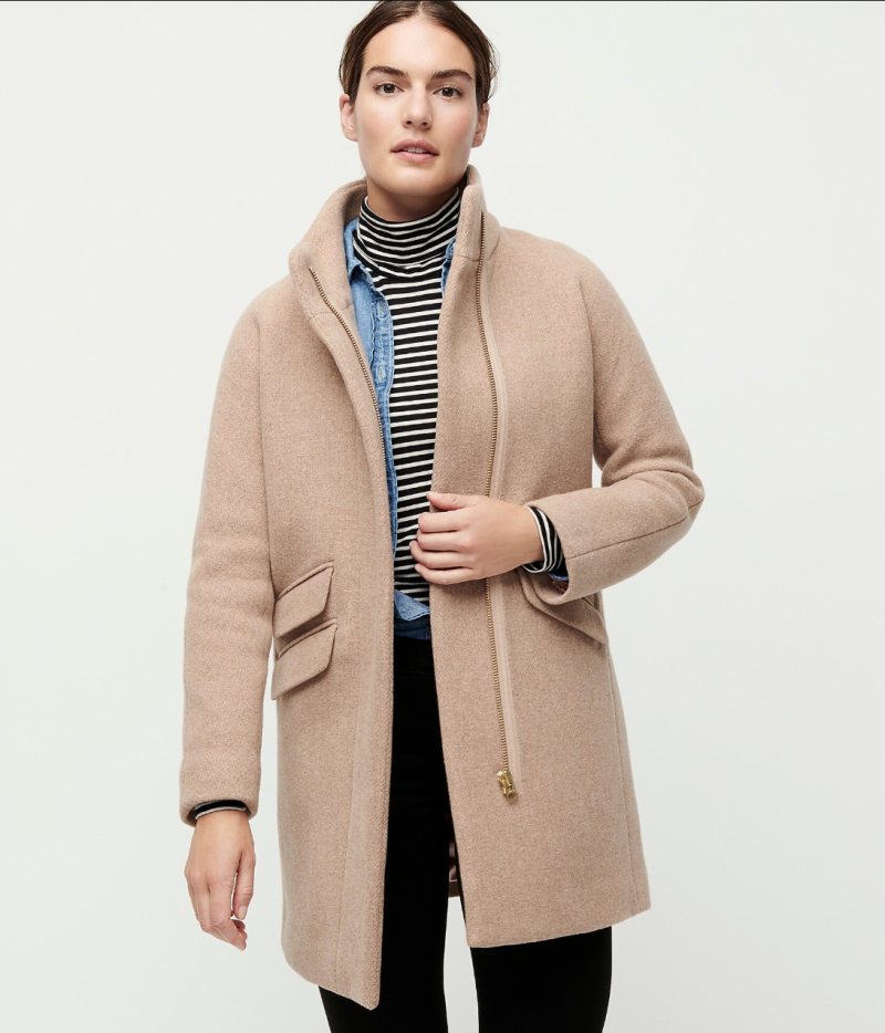 A clean silhouette lends itself to a timeless piece you'll keep in your closet for years to come. (Photo: J. Crew)