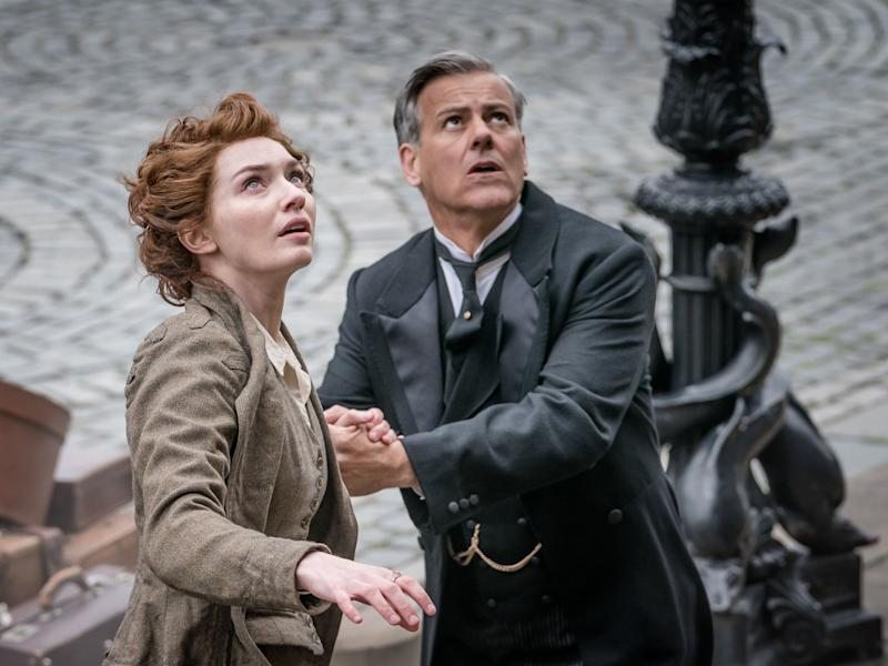 Eleanor Tomlinson and Rupert Graves in 'The War of the Worlds': BBC/Mammoth Screen