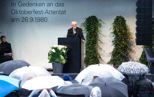 Germany Pays Tribute To Victims Of 1980 Oktoberfest Bombing