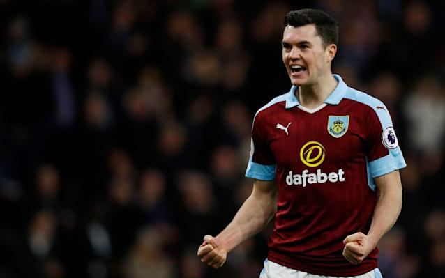 <span>Spurs are interested in signing Burnley's Michael Keane</span> <span>Credit: Reuters </span>
