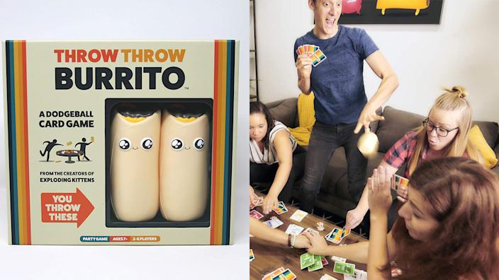 Best gifts for teen boys: Throw Throw Burrito