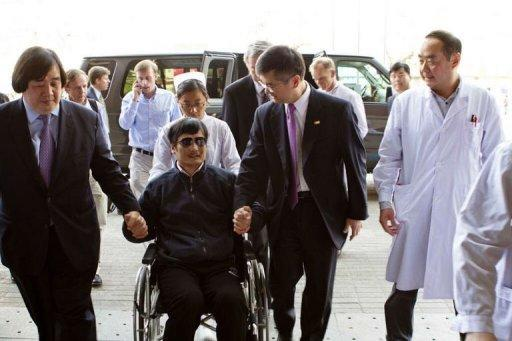Activist Chen Guangcheng has pleaded for US help to take him abroad