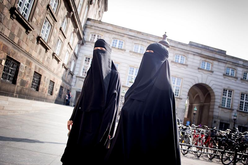 The Danish Parliamentisbanning full-face veils in the country as of Aug. 1.