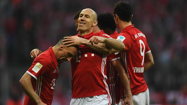 Arjen Robben and Jerome Boateng were both delighted with Bayern Munich's commanding 4-1 win over Borussia Dortmund.