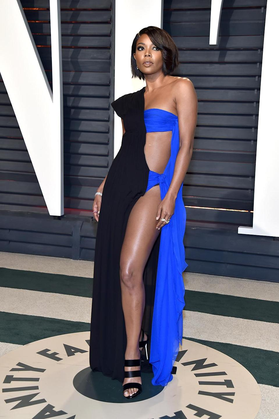 <p>Gabrielle Union attends the 2017 Vanity Fair Oscar Party hosted by Graydon Carter at Wallis Annenberg Center for the Performing Arts on February 26, 2017 in Beverly Hills, California. (Photo by Pascal Le Segretain/Getty Images) </p>