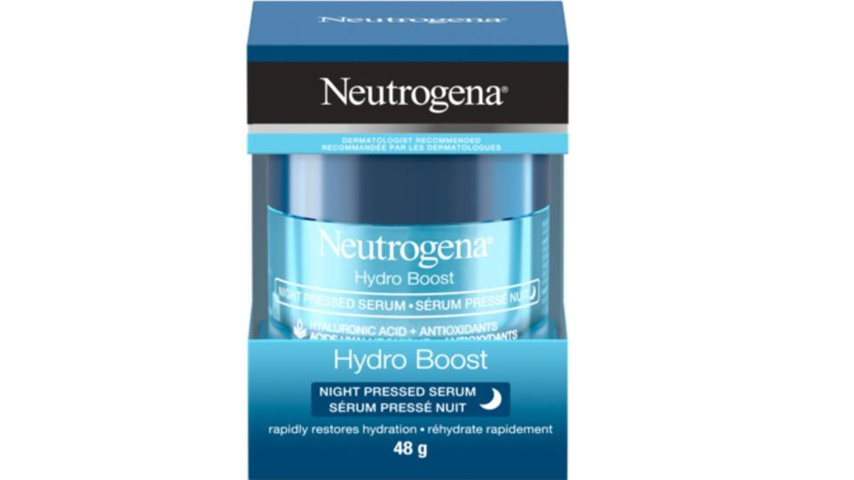 Hydro Boost Night Pressed Serum - Well.ca, $20
