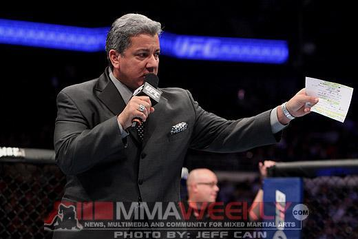 """""""It's Time"""" for Bruce Buffer to Unleash His UFC Memories and Motivational Mantra"""