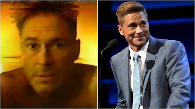 Rob Lowe Parodies Infamous 1988 Sex Tape In Hilarious Comedy Central Roast Promo Watch
