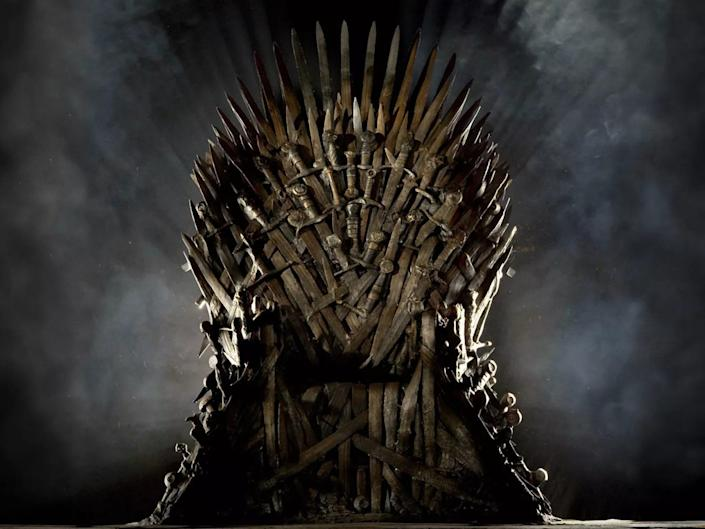 iron throne game of thrones hbo
