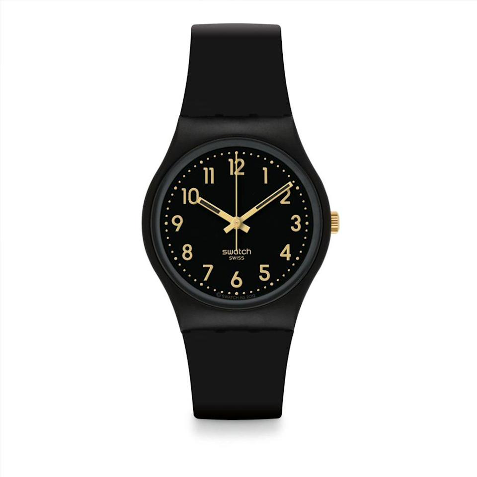 "<p><a class=""link rapid-noclick-resp"" href=""https://shop.swatch.com/en_us/watches/originals/gent/golden-tac-gb274.html"" rel=""nofollow noopener"" target=""_blank"" data-ylk=""slk:BUY IT HERE"">BUY IT HERE</a></p><p>There's something nostalgic and just plain old fun about a plastic Swatch watch. Not only are they strong indicators of whimsical style, but they are also an all-around well-made watch. This is what we will be wearing to the pool and the beach this summer.</p>"