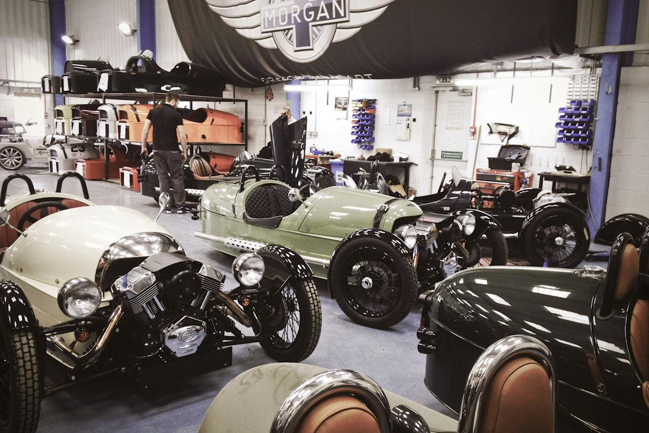 """<p>Most new cars are made with metal frames and high-tech machinery - but not Morgan. The folks behind one of the oldest operational car brands in the UK <a rel=""""nofollow"""" href=""""https://www.roadandtrack.com/car-culture/videos/a6433/video-morgan-motor-company-body-factory/"""">use wood</a> (yes, wood) to form chassis structures. Contributor Peter Egan <a rel=""""nofollow"""" href=""""https://www.roadandtrack.com/car-culture/a25242/peter-egan-side-glances-fenced-in-at-the-morgan-factory/"""">visited the Morgan factory</a> a while back, and he loved it. </p>"""