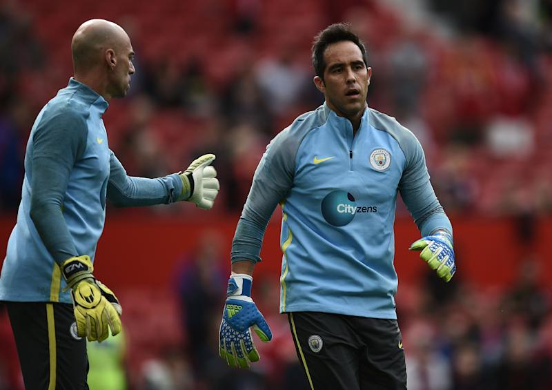 Willy Caballero Claudio Bravo Manchester City