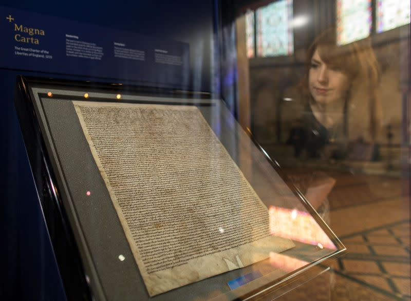 Man convicted of trying to steal 1215 Magna Carta from UK cathedral