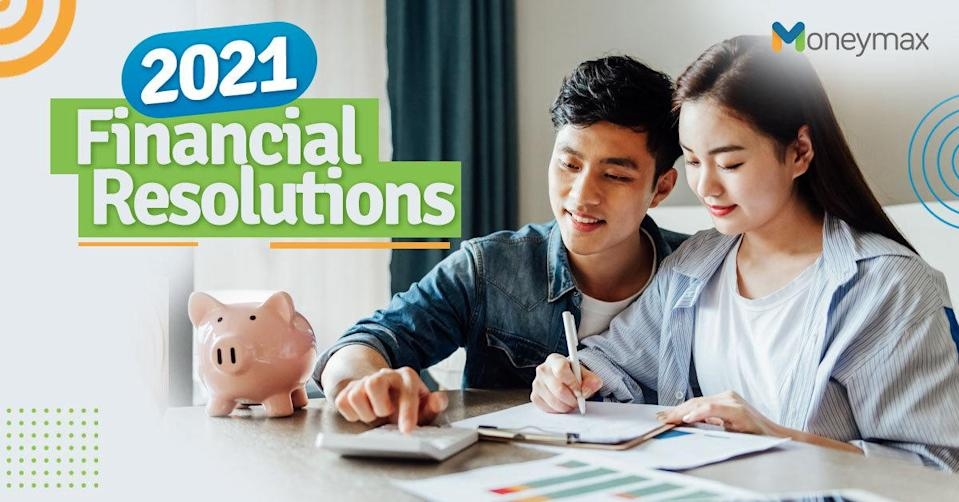 Financial New Year's Resolutions for 2021 | Moneymax