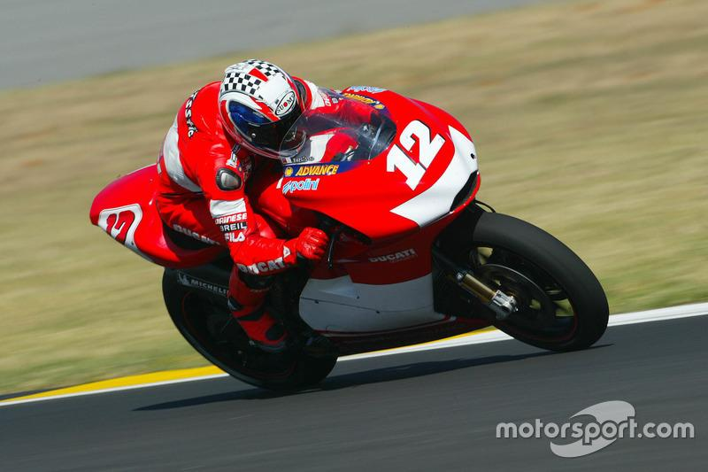"""#12 Troy Bayliss<span class=""""copyright"""">Gold and Goose / Motorsport Images</span>"""