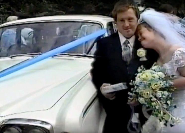 Maryanne and Tommy Pilling tied the knot in 1995 and are thought to be the first Down's Syndrome couple to do so [Photo: Caters News Agency]