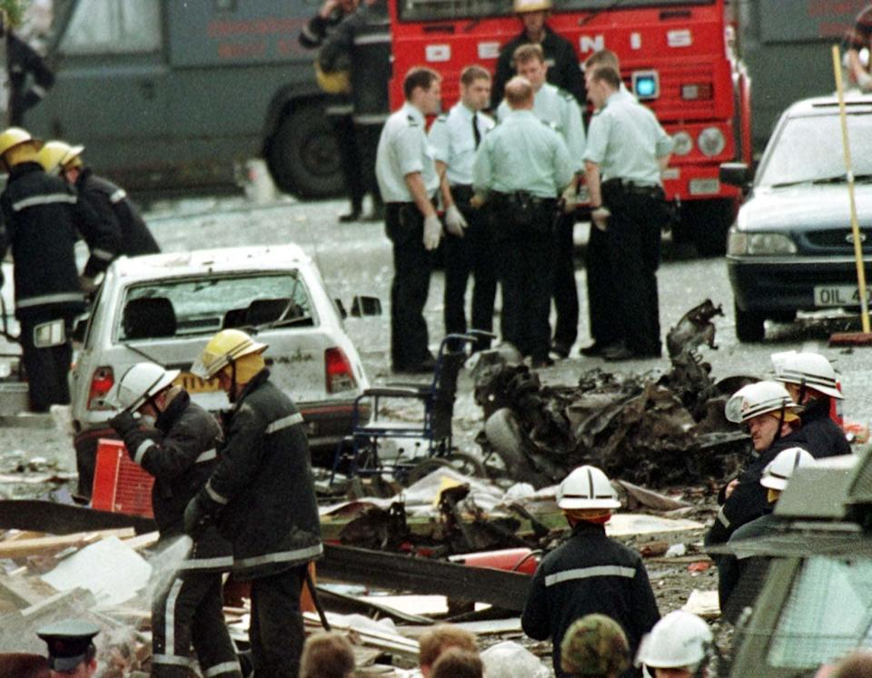The Omagh bombing was the worst single atrocity of the conflict in Northern Ireland (PA) (PA Wire)
