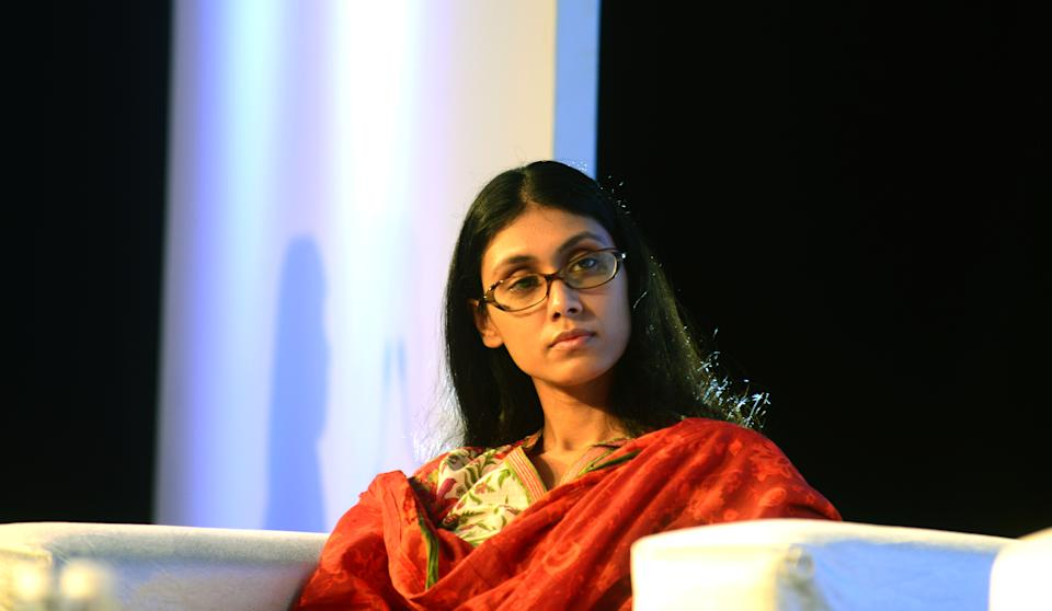 Roshni Nadar Malhotra is the chairperson of HCL Technologies and the first woman to lead a listed IT company in India. She is the only child of HCL's founder, Shiv Nadar. She worked in various companies as a producer before joining HCL. Within a year of her joining HCL, she was elevated as executive director and CEO of HCL Corporation. She subsequently became the chairperson of HCL Technologies after her father Shiv Nadar stepped down. Shiv Nadar himself came from humble beginnings, founded HCL in the mid-1970s and transformed the IT hardware company into an IT enterprise over the next three decades by constantly reinventing his company's focus. It remains to be seen what new levels Roshini will elevate the company toward. Her net worth is $4.9 billion making her the richest woman in India.
