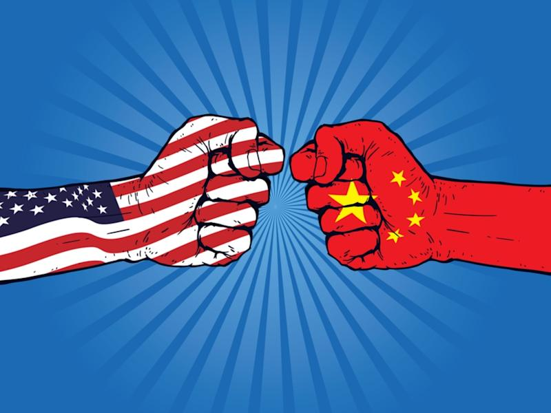 dow jones us-china trade war