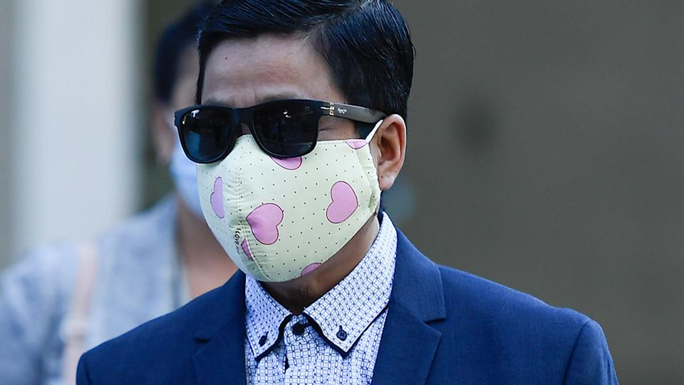 My Ut Trinh pictured outside of court. Source: AAP