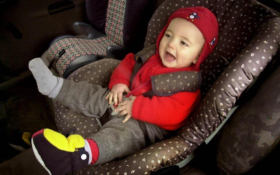 Car seat laws in the USA resulted in 57 children being saved from fatal crashes in 2017 - David Cheskin/PA