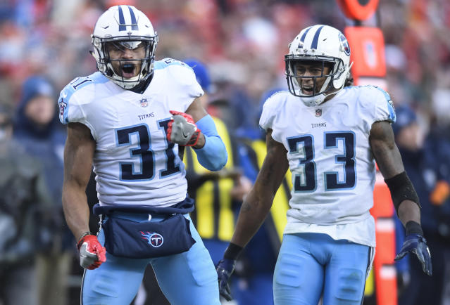 Tennessee Titans free safety Kevin Byard doesn't appear to be on Deion Sanders' radar. (AP)