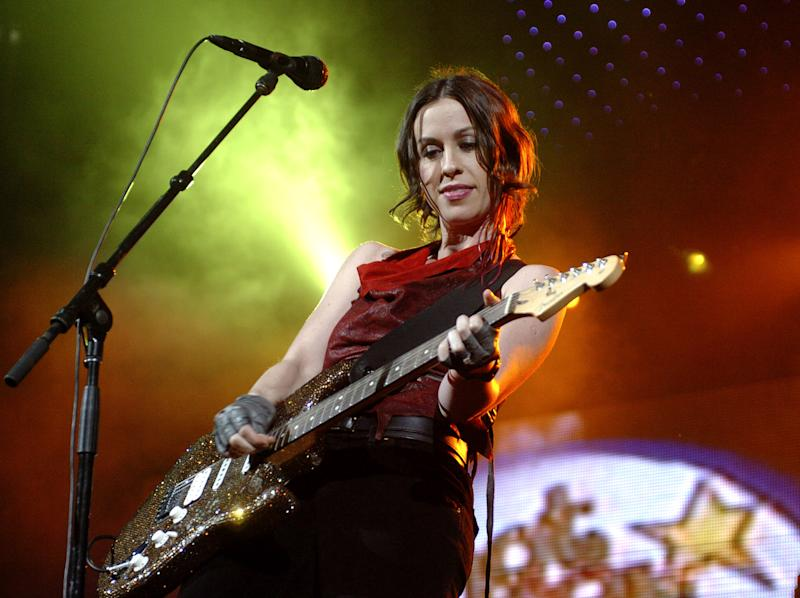 Alanis Morissette is touring Jagged Little Pill to mark its 25th anniversary. Photo: Getty Images