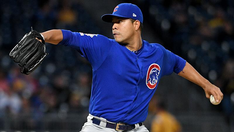 Cubs pitcher Quintana has thumb surgery for laceration