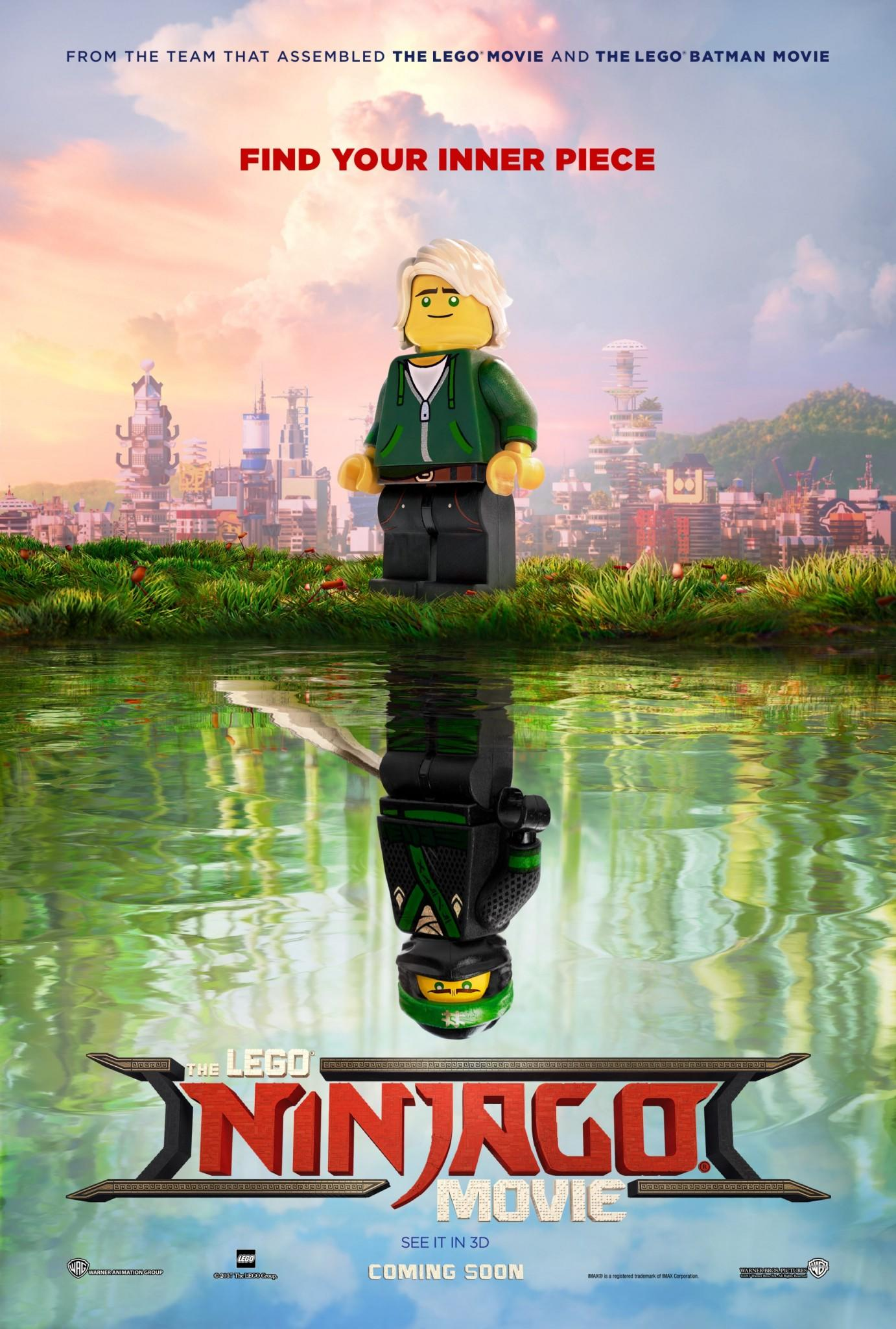 The LEGO Ninjago Movie - first poster (Credit: Warner Bros.)