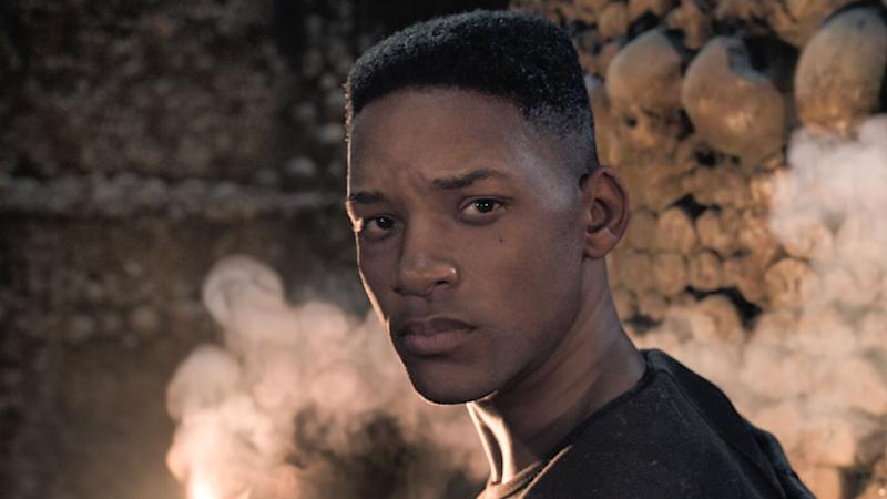 Will Smith gets a digital makeover to become his younger self in sci-fi thriller 'Gemini Man'. (Credit: Paramount)