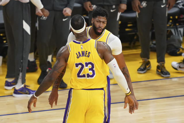 LeBron James et Anthony Davis, duo XXL des Lakers