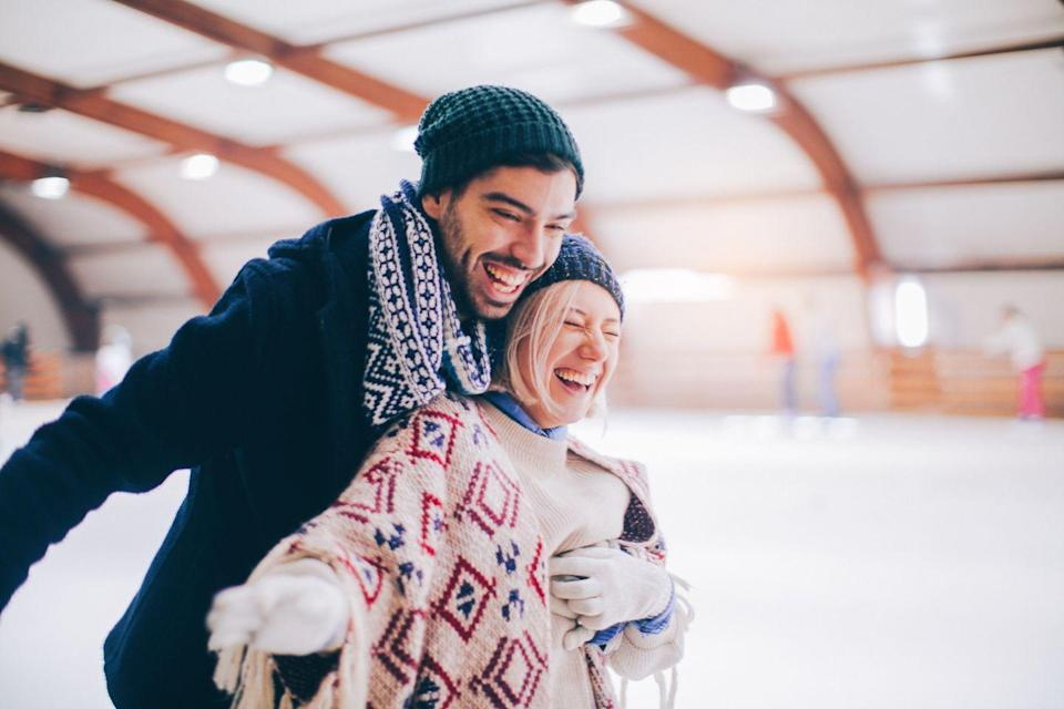 <p>If it's winter, make it an icy visit. If it's summer, try roller-skating. Hopefully you know what you're doing. If not, you'll have hilarious stories. </p>