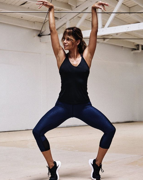 """<p>You don't have to pound the pavement to see results. Halle said on <a href=""""https://www.womenshealthmag.com/fitness/a26839980/halle-berry-favorite-low-impact-workout-instagram/"""" rel=""""nofollow noopener"""" target=""""_blank"""" data-ylk=""""slk:Instagram"""" class=""""link rapid-noclick-resp"""">Instagram</a> that she loves the elliptical machine: """"I could do that thing for two hours!""""</p>"""