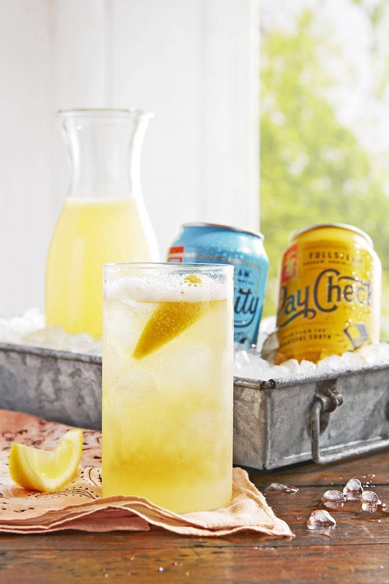 """<p>A mix of lemon, gin, and beer makes this cocktail oh so refreshing. We recommend using a lager or pilsner, but you can mix in any brew you like.</p><p><strong><a href=""""https://www.countryliving.com/food-drinks/a22667674/bees-knees-shandy-recipe/"""" rel=""""nofollow noopener"""" target=""""_blank"""" data-ylk=""""slk:Get the recipe"""" class=""""link rapid-noclick-resp"""">Get the recipe</a>.</strong></p>"""