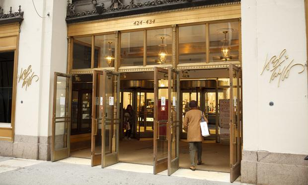 Lord & Taylor flagship department store on Fifth Avenue in Manhattan