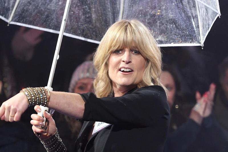 Women's equality party: Rachel Johnson arrives at the Big Brother House (Photo Karwai Tang/WireImage)