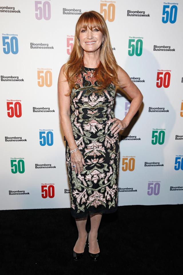 Jane Seymour attends the Bloomberg 50 celebration at Gotham Hall on Dec. 4, 2017, in New York City. (Photo: Getty Images)