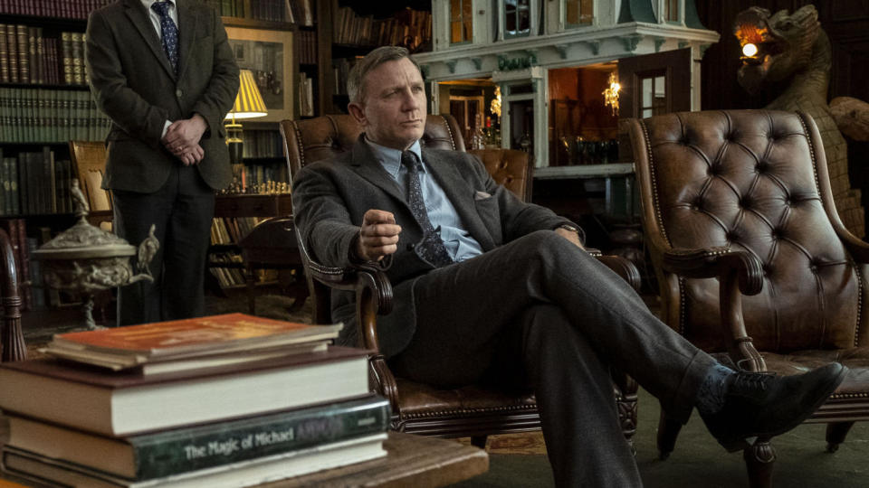 Daniel Craig as detective Benoit Blanc in thriller 'Knives Out'. (Credit: Lionsgate)