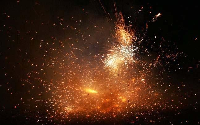 <p>Cases of burns were down by 50 per cent this Diwali after the apex court banned the sale of firecrackers during Diwali this year. </p>