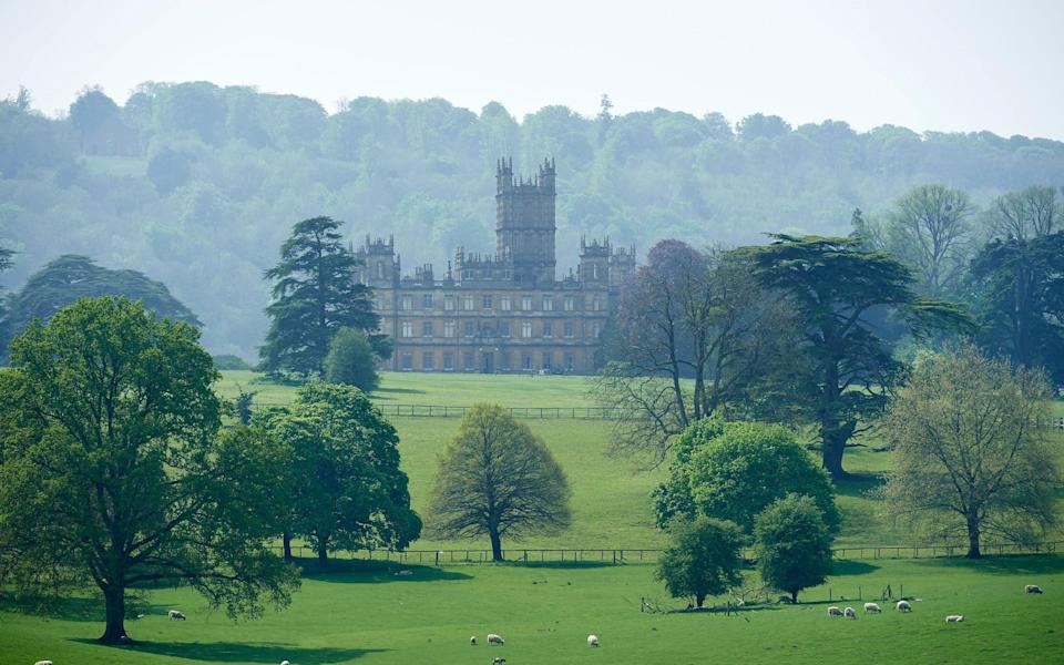Highclere Castle - Getty