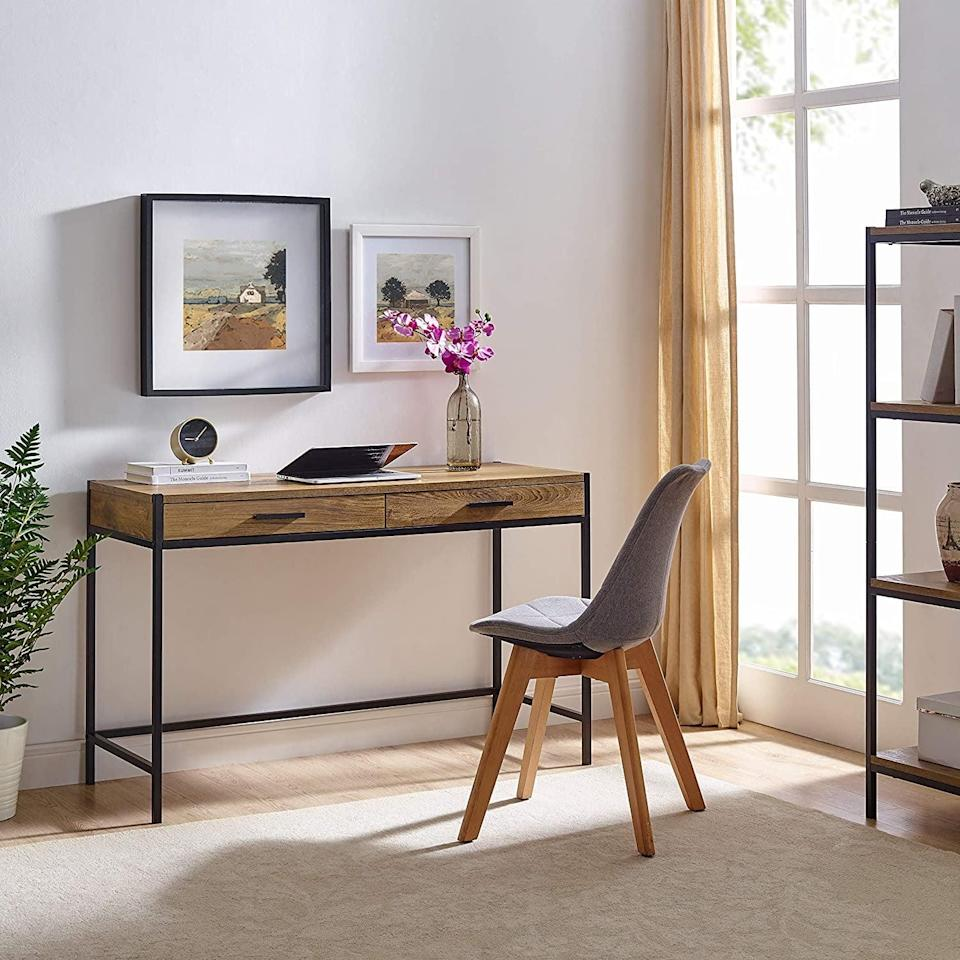 <p>Create an at-home work space with the <span>Writing Desk by Caffoz</span> ($180).</p>