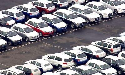 New car sales rise for first time in a year
