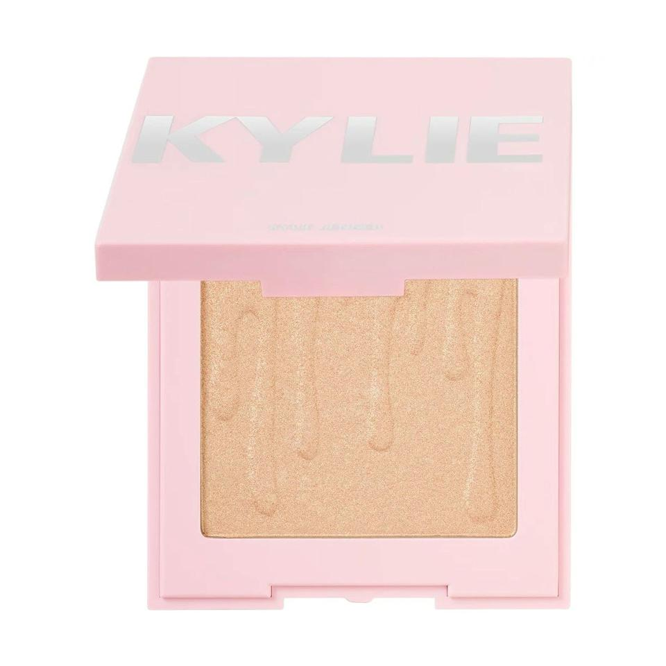 "All the blushes, ""Kylighters"" (that's highlighter to the rest of us), and bronzers in Kylie Jenner's famous line of cosmetics are on sale for $10—and at half off, that adds up to some major savings. $20, Ulta. <a href=""https://www.ulta.com/kylighter?productId=pimprod2007188"">Get it now!</a>"