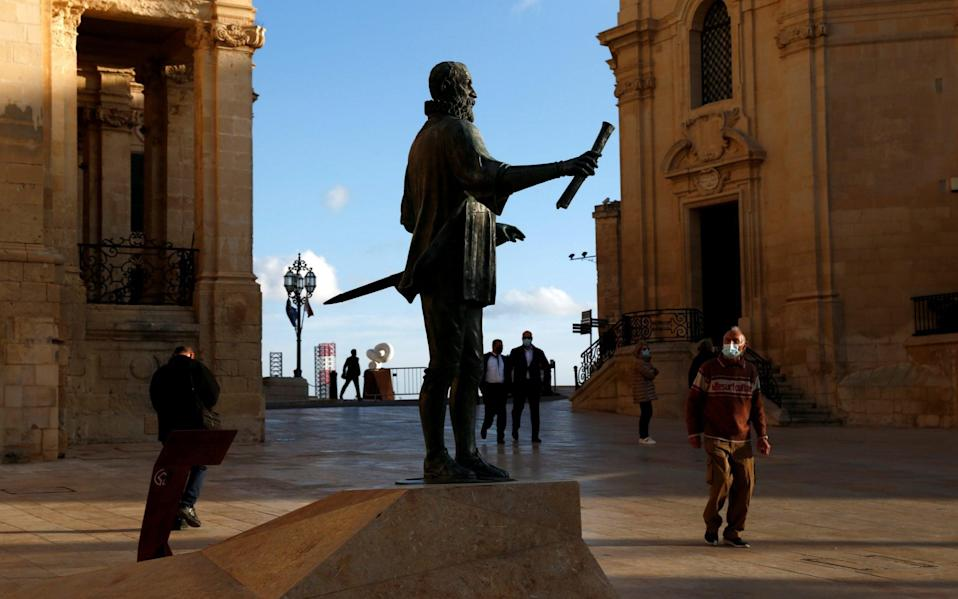 Malta is expected to be included among the 'green list' countries - Darrin Zammit Lupi/Reuters