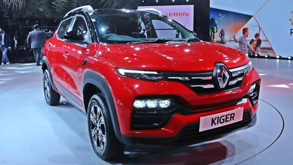 Renault KIGER launched in India at Rs. 5.45 lakh